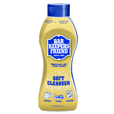 Bar Keepers Friend Soft Cleanser, 26oz Squeeze Bottle