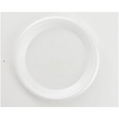 Boardwalk Non-Laminated Foam Plates, 10 1/4 Inches, White,