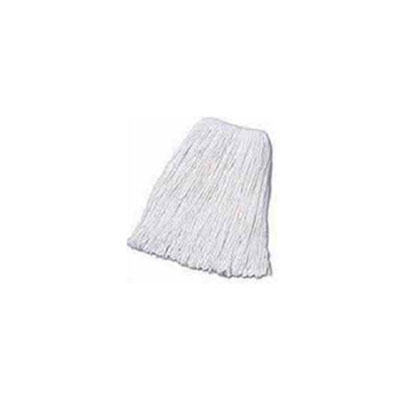 Boardwalk Mop Head, Cotton, Cut-End, White, 4-Ply,24 Oz.