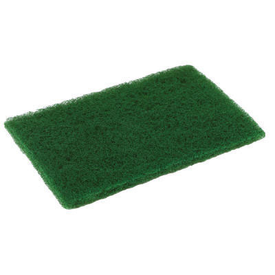 Disco Medium Duty Scouring Pad, 6 x 9, Green, 10 per Pack