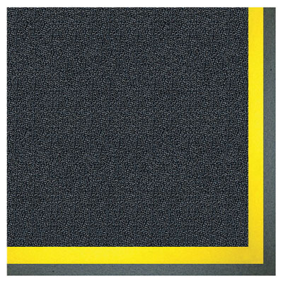 Crown Alleviator Anti-Fatigue Mat with Border, Zedlan, 24 x