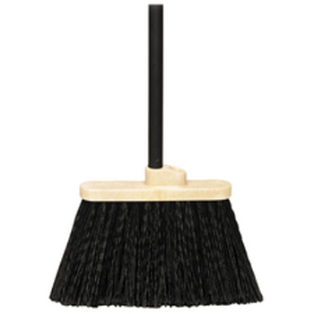 Hillyard Broom Duo Sweep Warehouse W Handle Bl