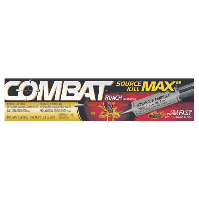 Combat Source Kill Max Roach Killing Gel, 2.1 Ounce Syringe