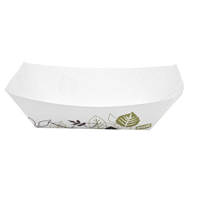 Dixie Kant Leek Polycoated Paper Food Tray,1-comp,