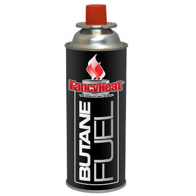 Fancy Heat Fuel Cartridge Butane, 2-4 Hour Setting, 8