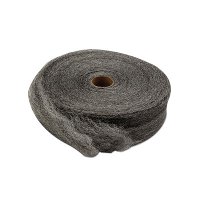 GMT Industrial-Quality Steel Wool Reel, #2 Medium Coarse,