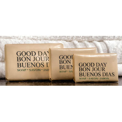Good Day Amenity Bar Soap, Pleasant Scent, 1.5oz