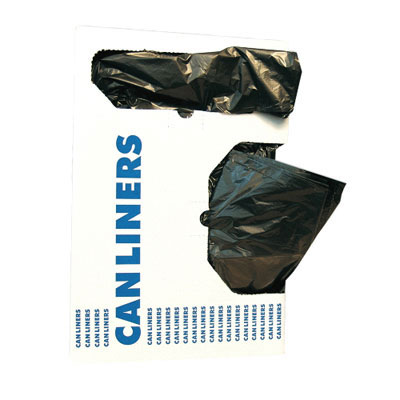RePrime Low-Density Can Liner, 40 x 53, 55-Gallon,