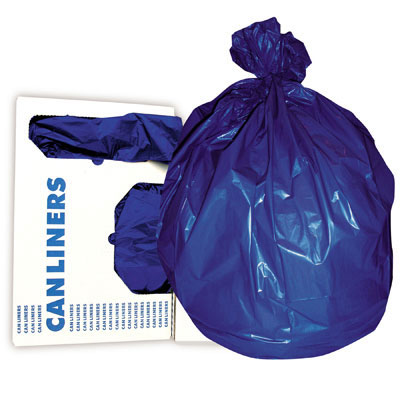 RePrime Low-Density Can Liner, 43 x 47, 56-Gallon,