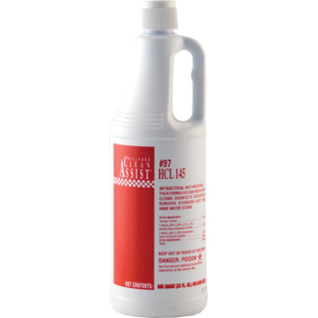 Hillyard HCL-145 Toilet Bowl Cleaner Qts