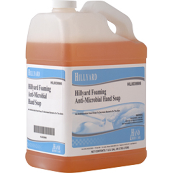 FOAMING ANTI MICROBIAL HAND SOAP REFILLABLE GAL