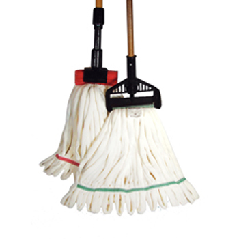 Hillyard Mop Wet Rough Surface Mf Nb Med White