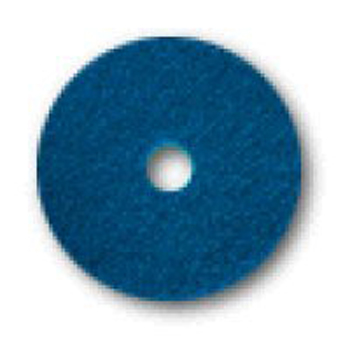 "Hillyard Pad 15"" Cleaner Blue 5/CS"