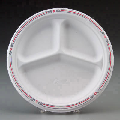 Chinet Classic White Molded Fiber Plates, 10.25in,