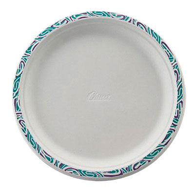 Chinet Classic White Molded Fiber Plates, 10 1/2 in,