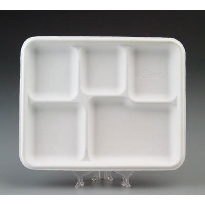 Chinet Heavy-Weight Molded Fiber Caf Tray,