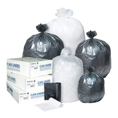 Inteplast Group High-Density Can Liner, 24 x 24,