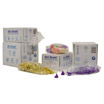 Inteplast Group Get Reddi Food & Poly Bag, 8 x 4 x 18,