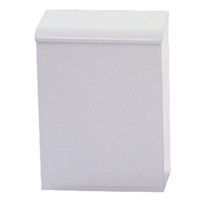 Impact Wall-Mount Sanitary Napkin Waste Receptacle,