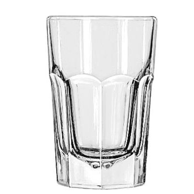 Libbey Gibraltar Glass Tumblers, Hi-Ball, 9oz, 3