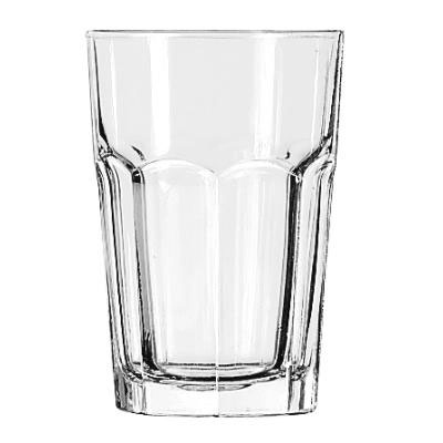 Libbey Gibraltar Glass Tumblers, Beverage, 14oz, 5