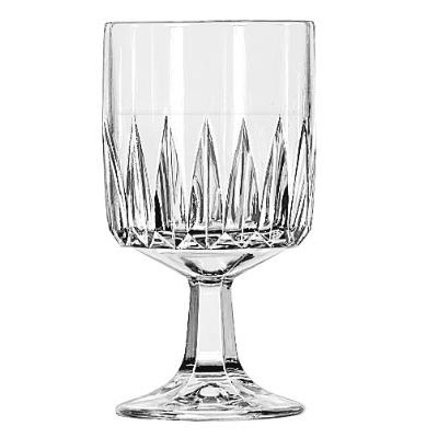Libbey Winchester Drinking Glasses, Goblet, 10-1/2 oz.,