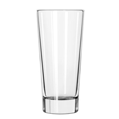 "Libbey lan Glass Tumblers, 14oz, 6 5/8"" Tall"