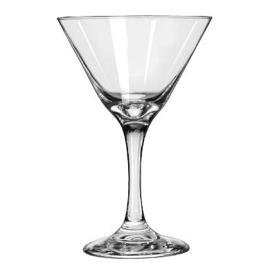 Libbey Embassy Cocktail Glasses, Martini, 9.25oz, 6
