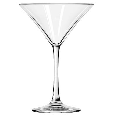 Libbey Vina Fine Cocktail Glasses, Martini, 8oz, 6 7/8""