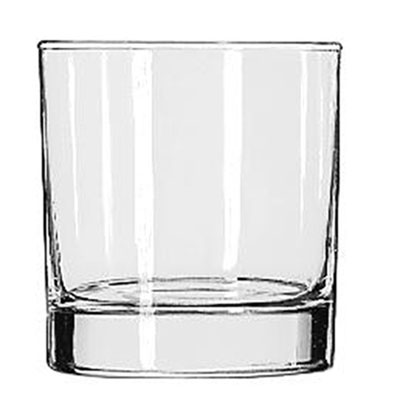 Libbey Heavy Base Tumblers, 8 oz, Clear, Rocks Glass