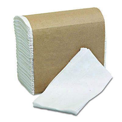Morcon Paper Tall-Fold Napkins, 1-Ply, 7 x 13 1/2,