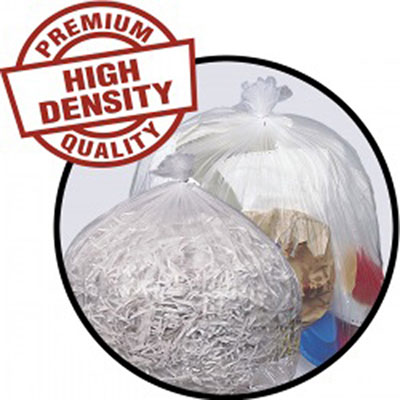 Penny Lane High-Density Mini-Roll Can Liners, 10 gal,