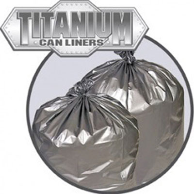 Penny Lane Titanium Low-Density Can Liners, 55-60
