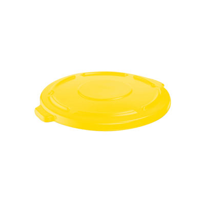 Rubbermaid Commercial Vented Round Brute Flat Top Lid, 24