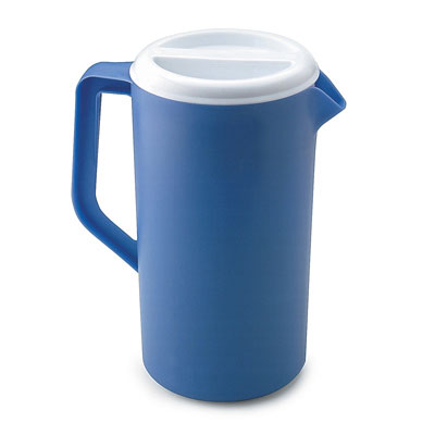 Rubbermaid Commercial Plastic Three-Way-Lid Pitcher, 36oz,