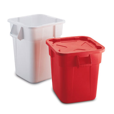 Rubbermaid Commercial Brute Container, Square,