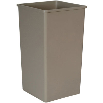 Rubbermaid Commercial Untouchable Waste Container,