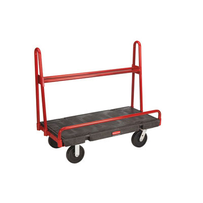 Rubbermaid Commercial A-Frame Panel Truck, 2000-lb Cap., 24