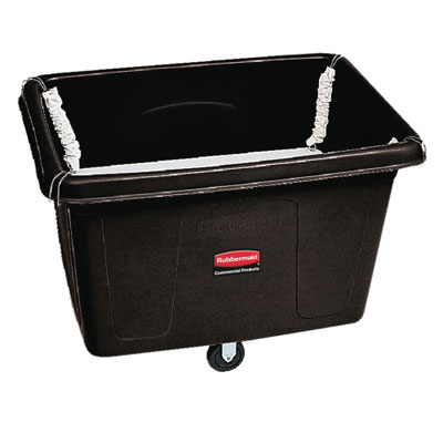 Rubbermaid Commercial Spring Platform Truck, Rectangular,