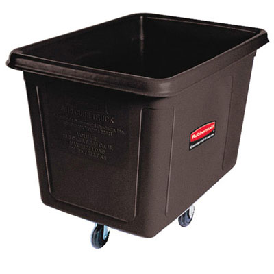 Rubbermaid Commercial Cube Truck, Rectangular, 600-lb.