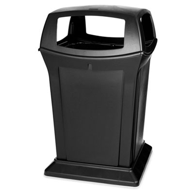 Rubbermaid Commercial Ranger Fire-Safe Container, Square,