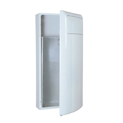 Rubbermaid Commercial Wall-Mounted Receptacle,