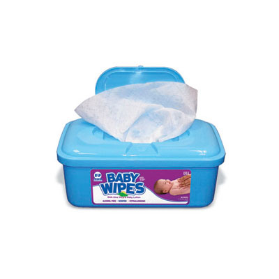 Royal Baby Wipes Tub, Scented, White, 80/Tub