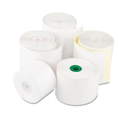 Royal Paper Register Roll, 3 in x 150 ft, White Bond 1 Ply