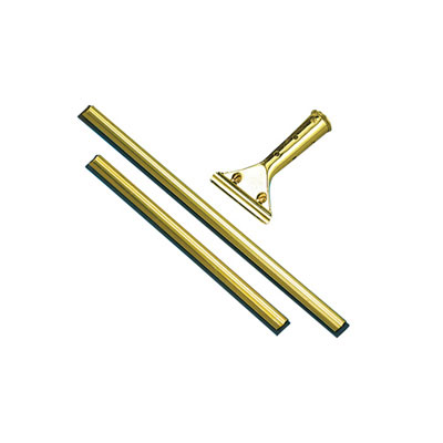 Unger Golden Clip Brass Channel with Black Rubber