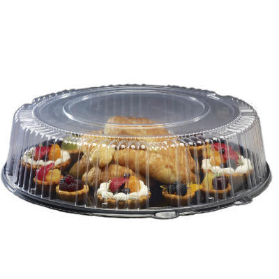 WNA Round Catering Tray with Dome Lid, 16 in