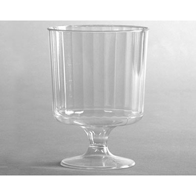 WNA Classic Crystal Stemware, 8 oz, Cold, Clear, Pedestal